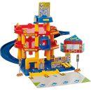 Wader Quality Toys 10258 - Parkgarage mit 3 Ebenen und 3 Fahrzeugen