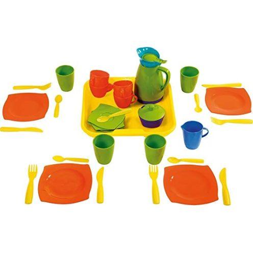 Wader Quality Toys 23040 - Service auf Tablett 34-teilig