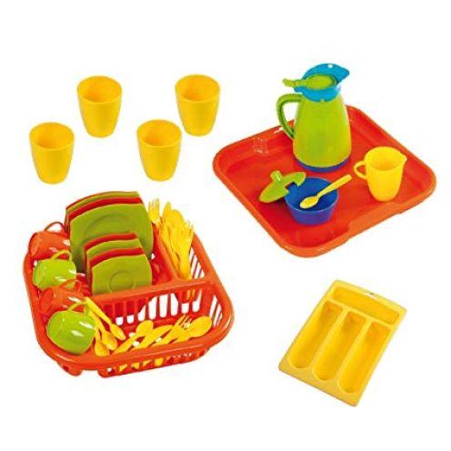 Wader Quality Toys 23172 - Service auf Tablett 40-teilig