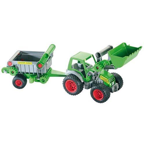 Wader Quality Toys 39172 - Traktor mit Frontlader und Kipper