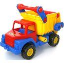 Wader Quality Toys BASICS Kipper mit Anhänger