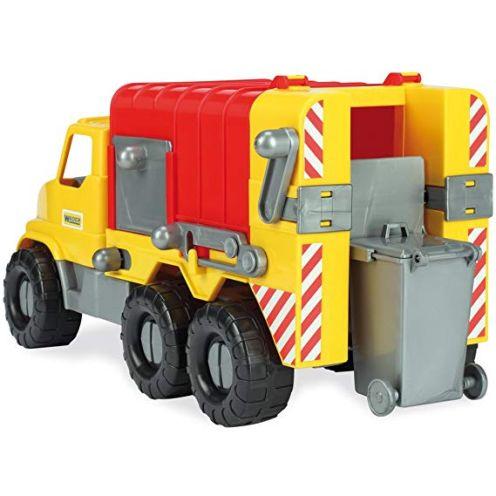 Wader Quality Toys Müllwagen mit abnehmbarer Tonne