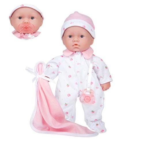 JC Toys La Baby Puppe mit weichem Körper
