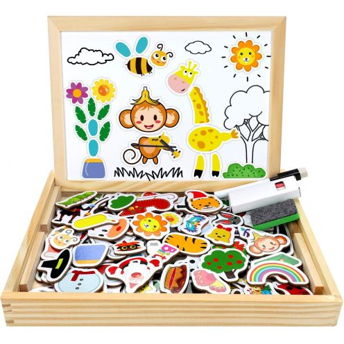 Jojoin Magnetisches Holzpuzzle