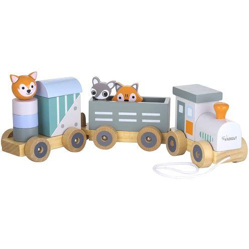 Kindsgut Holz-Eisenbahn