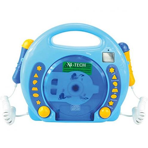 X4-Tech 701480 - Karaoke CD Player